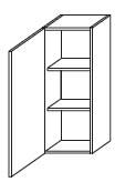 Подвесной шкаф Gorenje Fantasia B 30.38 - 30/75/20 см