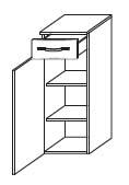 Нижний шкаф Gorenje Fantasia BKG 30.25 - 30.2/91.6/35.5 см