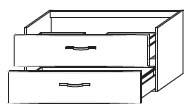 Тумба-умывальник Gorenje Fantasia F 105.87 - 105/50/45 см с раковиной UM 90.55
