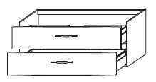 Тумба-умывальник Gorenje Fantasia F 120.87 - 120/50/45 см с раковиной UM 120.55