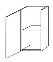 Настенный шкафчик Gorenje Fresh Karisma B 30.09 - 30/60/20 см
