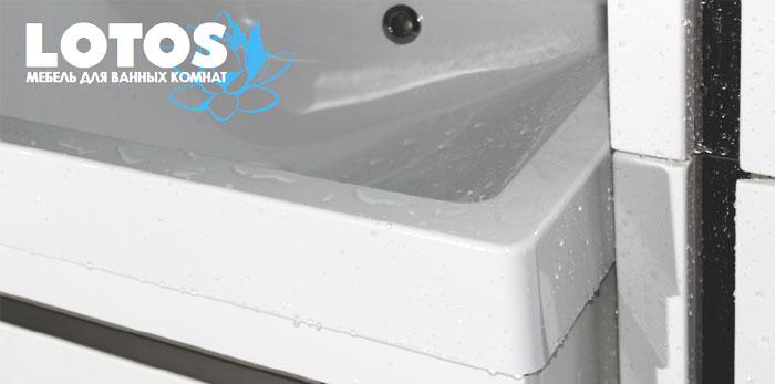 Купить мебель Lotos (Лотос) 67 см под стиральную машину для ванной комнаты в интернет-магазине сантехники