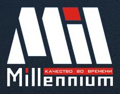 """Купить футорку Millennium 1/2""""н x 3/8""""в в интернет-магазине сантехники"""