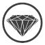 Sanita Luxe - поверхность Sanita Crystal