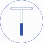 Применение - Благодаря скребку легко и просто осуществлять уход за душевой кабиной, а также за зеркалами и плиткой в ванной комнате. Для этого после принятия душа с помощью скребка нужно убрать капли воды со стен душевой кабины, плитки или зеркала. Это позволит избежать появления высохших разводов или пятен.