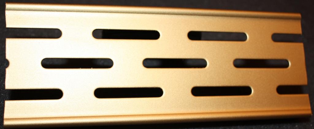 Решетка Aco для душевого канала - золото, матовое, краска
