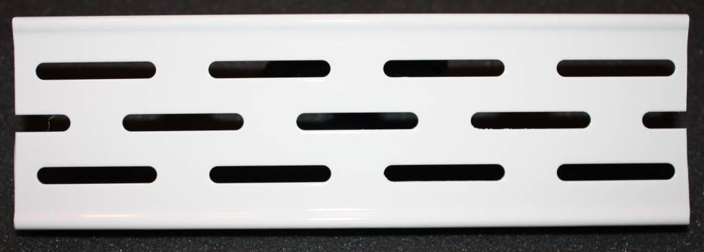 Решетка Aco для душевого канала - белый цвет по RAL