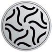 Круглая решетка Aco Гаваи для душевого трапа Aco Easy Flow