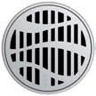 Круглая решетка Aco Лес для душевого трапа Aco Easy Flow