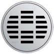 Круглая решетка Aco Линия для душевого трапа Aco Easy Flow