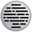 Круглая решетка Aco Микс для душевого трапа Aco Easy Flow