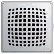 Квадратная решетка Aco Пиксель с замком или без для душевого трапа Aco Easy Flow