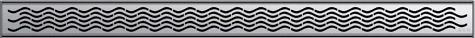 Решетка Aco Вода для душевого канала Aco C-line