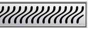 Решетка Aco Флаг для душевого канала Aco E-line
