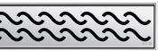 Решетка Aco Гаваи для душевого канала Aco E-line