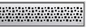 Решетка Aco Пиксель для душевого канала Aco E-line