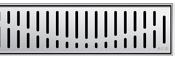 Решетка Aco Волна для душевого канала Aco E-line