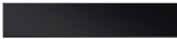 Стеклянная решетка Aco Черная для душевого канала Aco E-line