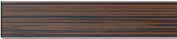Стеклянная решетка Aco Венге для душевого канала Aco E-line