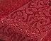 Красное бамбуковое полотенце Cestepe Bamboo Premium