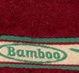 Бордовое бамбуковое полотенце Cestepe Bamboo Panda
