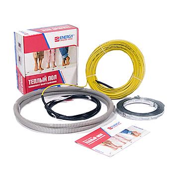 Двужильный теплый пол Energy (Энерджи) Cable для ванной комнаты, дома или квартиры