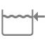 Бачок для унитаза Jika - боковой подвод воды к бачку