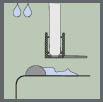Душевая дверь Riho - 2 степень уплотнения