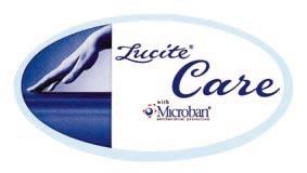 """Ванны RIHO изготавливаются исключительно из высококачественного литого акрила толщиной 6-8 мм фирмы LUCITE (Англия). В состав акрила этой ванны добавлен специальный антибактериальный состав """"Lucite Care"""" от компании Microban."""