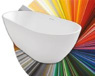 Если Вы хотите заказать цветную ванну, то в комментарии к ванне напишите код цвета по RAL.
